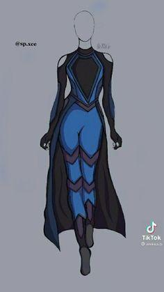 Superhero Costumes Female, Superhero Suits, Superhero Design, Super Hero Outfits, Super Hero Costumes, Character Outfits, Character Art, Avengers Outfits, Drawing Anime Clothes