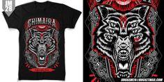 """The Beast"" t-shirt design by JINGGAM28"