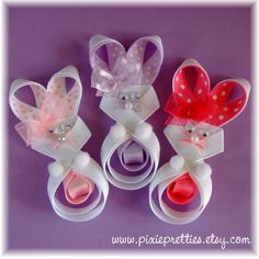 easter bunny clippie