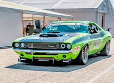 A beast 👹 Tag the owner / photographer below 👇 dodge beast low slammed oldtimer racecar classiccar musclecar americanmuscle Dodge Challenger, Dodge Muscle Cars, Mustang Cars, Ford Mustang, Us Cars, Race Cars, Nascar Cars, Porsche, Audi