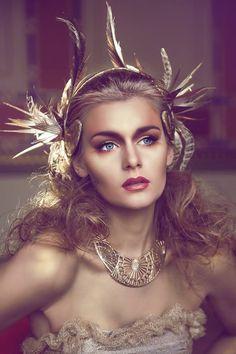 Headdress, Headpiece, Goddess Makeup, Greek Goddess Costume, Fantasy Photography, Aphrodite, Headgear, Female Art, Character Inspiration