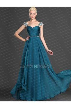Green Prom Dress, Formal Dresses
