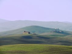 The Val d'Orcia, a postcard from Tuscany