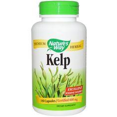 Nature's Way, Kelp, 600 mg, 180 Capsules  New to iHerb? Use coupon code NWB338