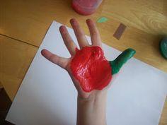 Wormy Apple Art Project