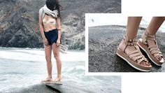 NUDE sandals. Made in Greece. #agapi find them here: www.esiot.gr