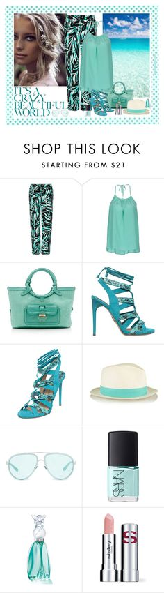 """Crazy Beautiful World"" by katiethomas-2 ❤ liked on Polyvore featuring BCBGMAXAZRIA, Seed Design, J'AIME LES GARÇONS, Jimmy Choo, Paul Andrew, rag & bone, Linda Farrow, NARS Cosmetics, Anna Sui and Sisley Paris"