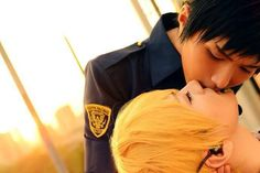 Aomine x Kise [Kuroko no basket] (Coser: Baozi  Hana) {Country: China}