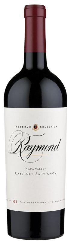 Raymond Cabernet Sauvignon. A great example of a Napa Cab.