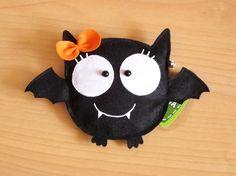 Bat Girl Purse Trick or Treat by lovelia on Etsy