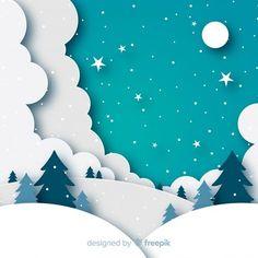 Mehr als eine Million kostenlose Vektoren, PSD, Fotos und kostenlose Icons. Exklusive Werbege… – The World 3d Paper Art, Paper Artwork, Paper Art Design, Diy And Crafts, Crafts For Kids, Paper Crafts, Mery Chrismas, Christmas Crafts, Christmas Decorations