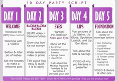 Part 1 of 10 day party script https://www.youniqueproducts.com/JaclynLewis