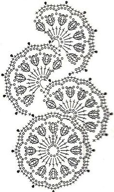 a beautiful crochet motif!                                                                                                                                                                                 More
