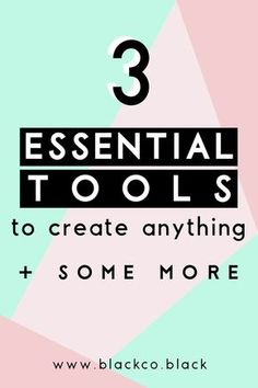 """The most important and essential tools to create anything. I have found the """"mother of all tools"""", the """"holy grail"""", and I am sharing it with you."""