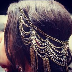 Gorgeous head jewellery