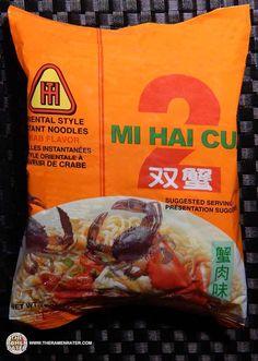 Re-Review: Tat Hui Mi Hai Cua 2 Crab Flavour Oriental Style Instant Noodles - The Ramen Rater