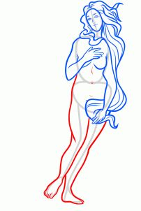 How to Draw The Birth of Venus, The Birth of Venus, Step by Step, Art, Pop Culture, FREE Online Drawing Tutorial, Added by Dawn, July 8, 2013, 10:32:41 am