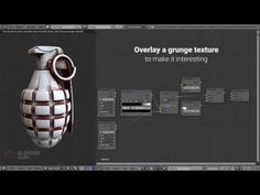 How to Add Easy Grunge in Blender - YouTube