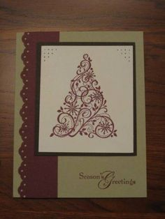 Razzleberry Snow Swirled by jadoherty - Cards and Paper Crafts at Splitcoaststampers