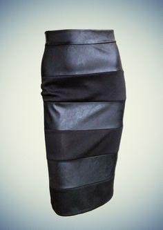 Γυναικεία φούστα Anel Fashion για το φθινόπωρο και το χειμώνα του 2014 - 2015! Leather Skirt, Skirts, Fashion, Moda, Leather Skirts, Fashion Styles, Skirt, Fasion