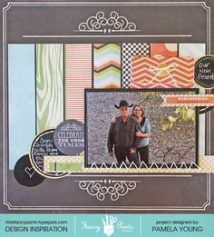 FP-John-and-Frances-layout by Pamela Young using the Memories Captured collection by Fancypantsdesigns.com