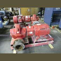 Pump:  Size: 8 In. x 10 In. x 12 In. (W x L x H). Model: HSC3 10.100 RHR. GPM: 1875. Head: 75 ft. PSI: 175.   Motor:  Volts: 230/460V. RPM: 1770. Amps: 140/70. PH: 3. Hz......