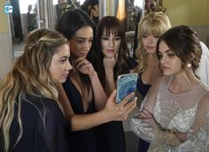 "#PLL 7x20 ""'Til Death Do Us Part"" - Hanna, Emily, Spencer, Ali and Aria"