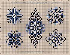 Gallery.ru / Фото #39 - Embroidering Sample Book IV - gabbach