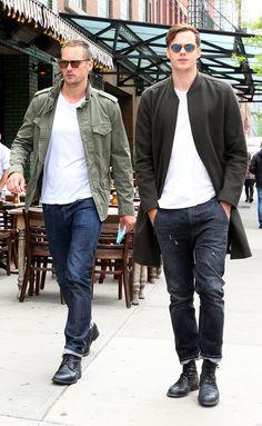 Alexander and Bill Skarsgard Out in NYC May 2017 | POPSUGAR Celebrity