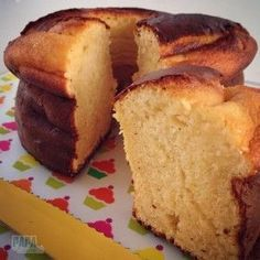 Gesüßter Kondensmilchkuchen – Papa en Cuisine – p'tit dej - Kuchen Desserts With Biscuits, Köstliche Desserts, Food Cakes, Cupcake Cakes, Sweet Recipes, Cake Recipes, Cooking Time, Cooking Recipes, Snacks