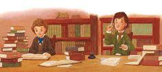 O Lobo Leitor: A leitura ilustrada de hoje: jovens leitores numa ...