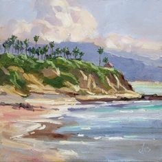 California Painting | LAGUNA BEACH CALIFORNIA IMPRESSIONIST PLEIN AIR PAINTING, original ...