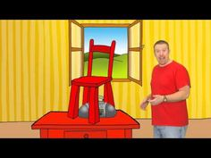 What is it? It´s a sofa! It's a green sofa! Steve and Maggie teach kids English in yet another funny and simple video clip. This time Steve takes you to a ma...