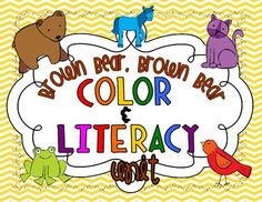 This 28 page unit is based on the book Brown Bear, Brown Bear What Do You See? by Eric Carle 4.00