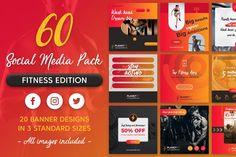 Web Ui Design, Banner Design, Dream Big, Social Media, Gym, Twitter, Social Networks, Training, Gymnastics Room