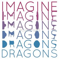 """""""Imagine Dragons"""" T-Shirts & Hoodies by Keeters23 