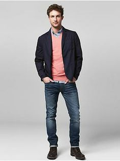 Men's Clothing: Men's Clothing: Just In! Denim Outfits Jeans by Fit | Gap