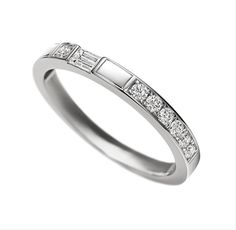 Harry Winston Traffic Accent Diamond Wedding Band