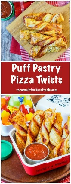 Puff Pastry Pizza Twists - Tara's Multicultural Table Puff Pastry Pizza Twists - Tara's Multicultural Table,FOOD // DRINK Puff Pastry Pizza Twists - Tara's Multicultural Table appetizers and drink pastry recipes cabbage rolls recipes cabbage rolls polish Phyllo Recipes, Puff Pastry Recipes, Pizza Recipes, Appetizer Recipes, Cooking Recipes, Appetizers With Puff Pastry, Brunch Appetizers, Puff Pastry Pizza, Puff Pastry Sheets