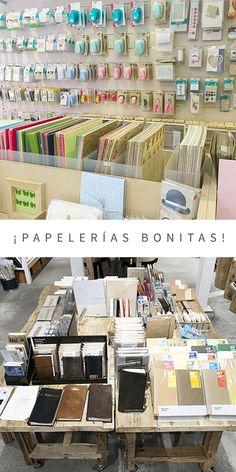 ¡Tiendas de papelería bonita!