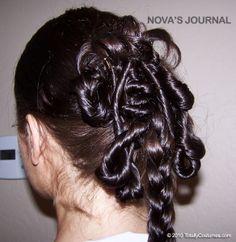 Padme Amidala I would leave out the braid