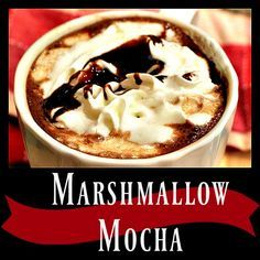 Marshmallow Mocha - A deliciously creamy mocha coffee drink made especially with the Ninja Coffee Bar System.