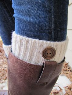 Boot Cuff Boot CuffBoot TopperBoot SockWoolCream by sugarbshop, $24.00