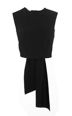 Black Bow Back Top by Oscar de la Renta Now Available on Moda Operandi