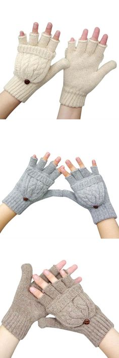 3bf6bc1bdecd0 High quality gloves women mitten warmer women winter glove fingerless gloves  female girls guanti iinvernali mujer