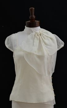 9b90226b06696 Milly of New York Gwenie Bow Blouse