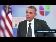 """""""By His Own Admission"""" from the RNC criticizes Obama. 9/21/12"""