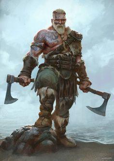 By Alex Horley Death Dealer   The staggering art of Joseph McLamb   Vikings, Guerriers et Élan
