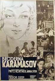 The Brothers Karamazov a.k.a. Der Mörder Dimitri Karamasoff - Germany (1931) Director:  Erich Engels, Fyodor Otsep