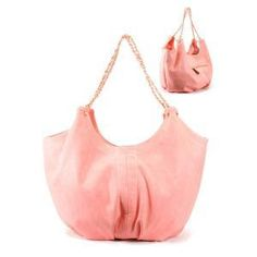 pink coral purse